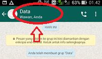 cara menjadikan anggota sebagai admin grup whatsapp