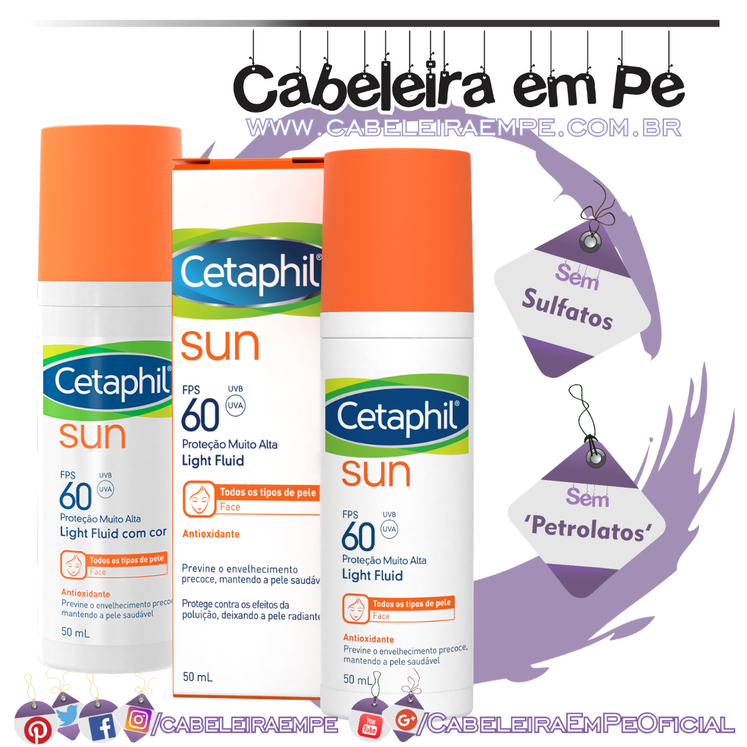 Protetor Solar Light Fluid FPS-60 - Cetaphil