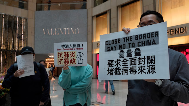 Hong Kong akan Karantina Semua Pendatang dari China