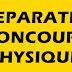 PRÉPARATION CONCOURS PHYSIQUE