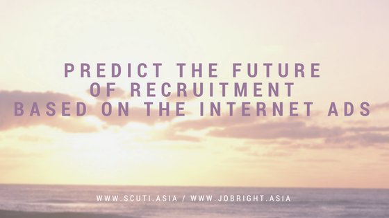Predict the future of recruitment based on the internet ads