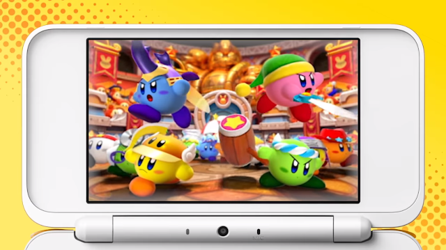 Kirby Battle Royale Nintendo 3DS multiplayer