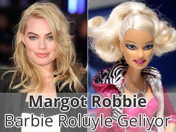Margot Robbie, Barbie Rolü ile Karşımıza Çıkabilir