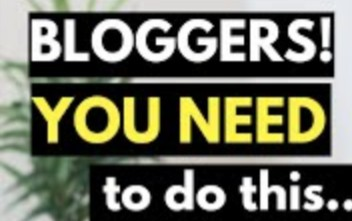 IMPORTANT THINGS A BLOGGER SHOULD OWN & KNOW