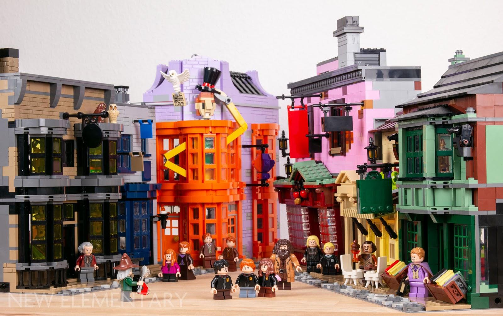Lego DIagon Alley Book Building Instructions