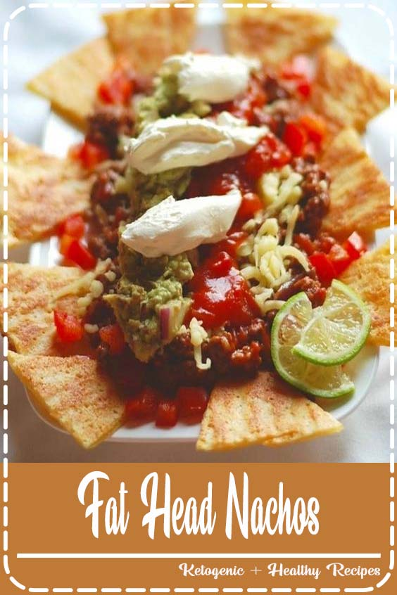 See the conversion below to see how to make these using almond flour or coconut flour Fat Head Nachos