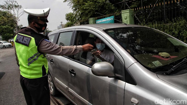 Mau Keluar Masuk Jakarta saat PSBB? Baca Dulu Syaratnya
