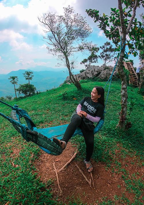 hammock on the summit