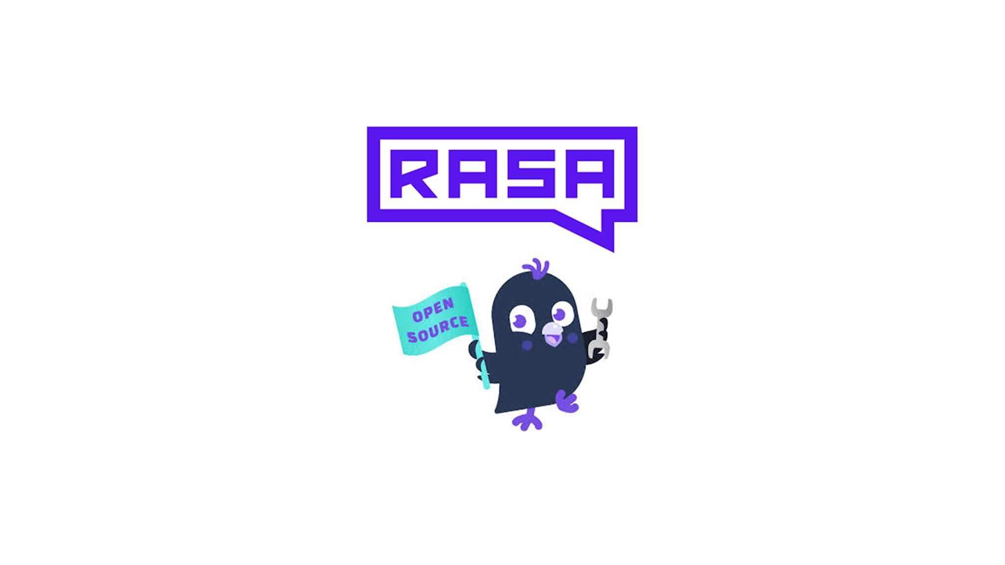 Rasa logo with bird