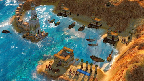 Screen Shot Of Age of Mythology Extended Edition (2003) Full PC Game Free Download At worldfree4u.com