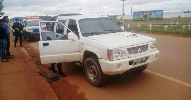 PM: Trio é preso em Guajará-Mirim com caminhonete furtada de Porto Velho