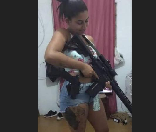 Hello Kitty, gerente do tráfico em São Gonçalo, é morta em operação da PM; outros três suspeitos morrem