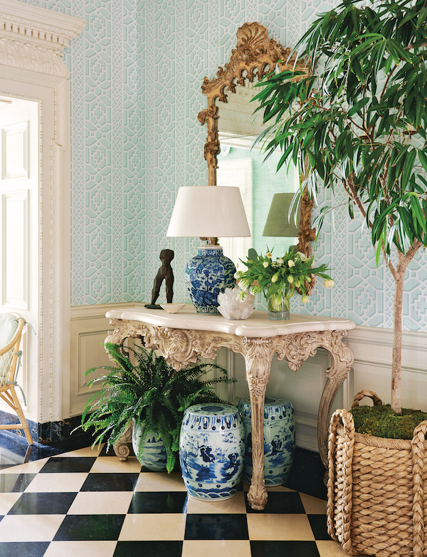 Chinoiserie Chic The Chinoiserie Garden Entryway