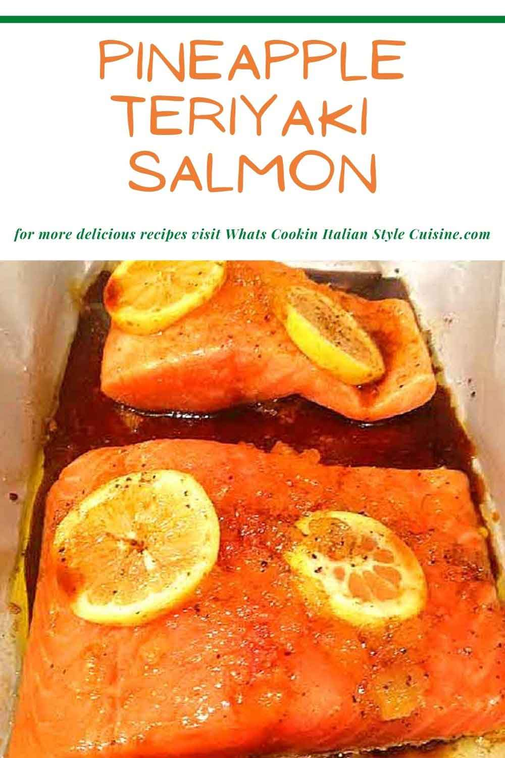 this is a pin for later how to make teriyaki salmon