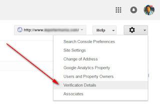 cara daftar di google webmaster tool
