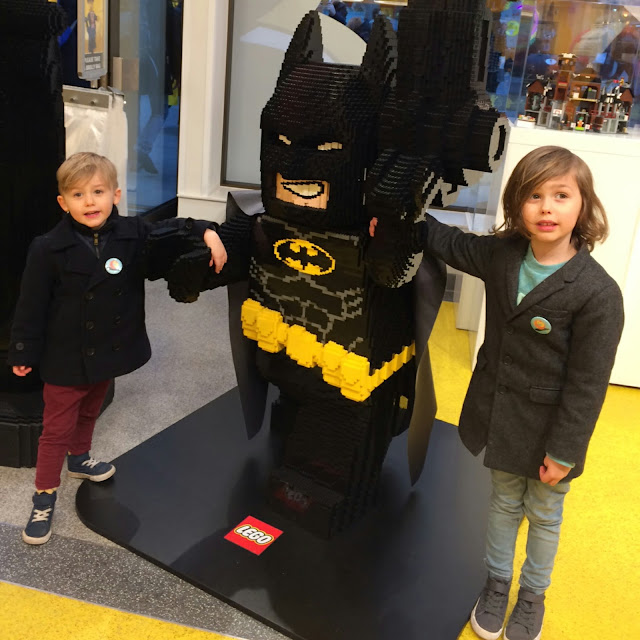 Lego shop London,  batman