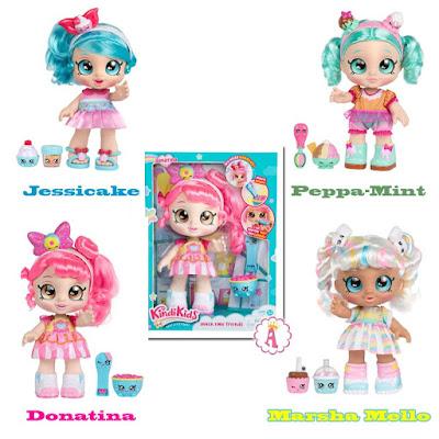 Серия кукол Kindi Kids