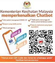 KKM Memperkenalkan Chatbot Untuk Mendapatkan Info Covid-19