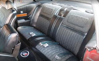 1970 Buick Riviera Gran Sport GS Seat Rear