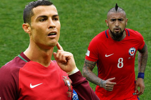 Confed Cup Semifinals: Chile Aims To Cage Ronaldo