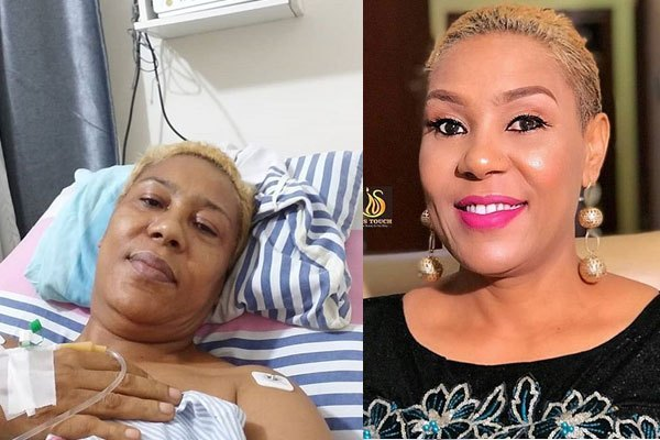 Actress Shan George undergoes spine surgery