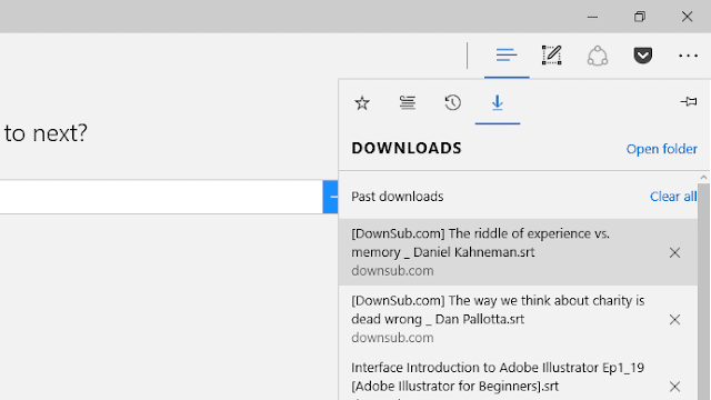 Cara Mengganti Lokasi/Folder Default Download di Microsoft Edge