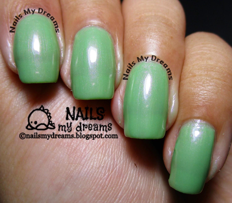 Nails My Dreams: Chic Kiss Mint Nail Polish Swatches!...