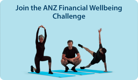 Join the ANZ Financial Wellbeing Challenge