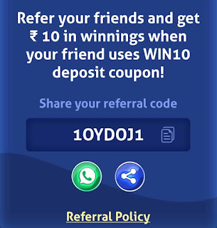 Ludo Supreme refer and earn