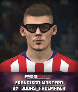 PES 2017 Faces Francisco Montero by Judas