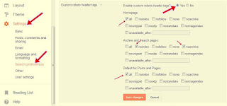 Custom robots header tags  फॉर seo