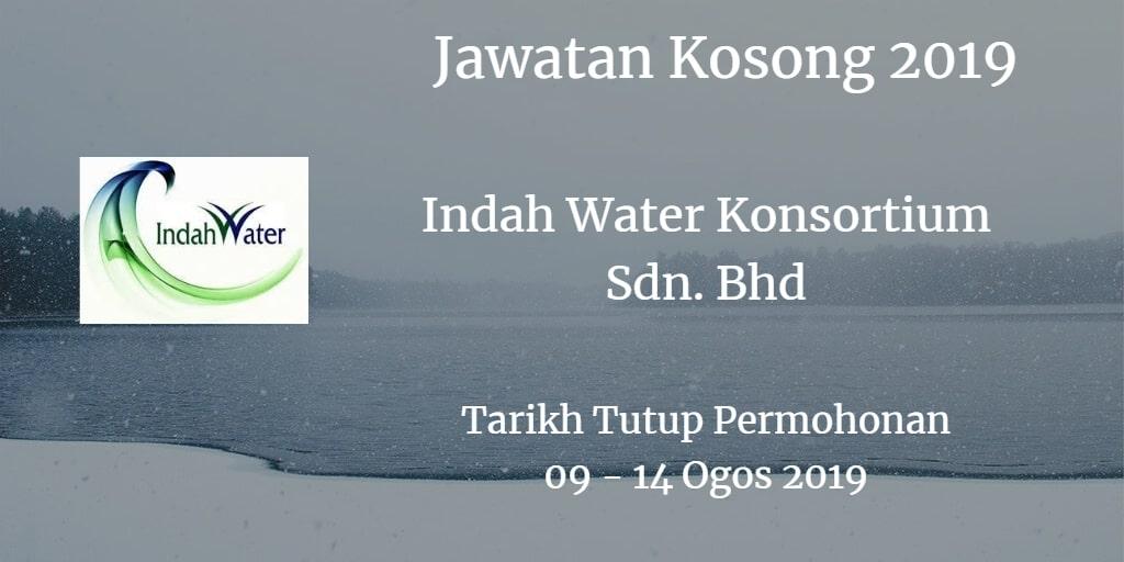 Jawatan Kosong Indah Water Konsortium Sdn. Bhd 09 - 14 Ogos 2019