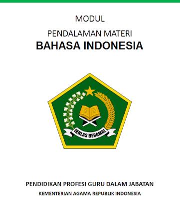 Modul PPG Kemenag Bahasa Indonesia