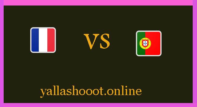 موعد مباراة البرتغال ضد فرنسا يلا شوت اليوم الأربعاء 23-6-2021 يورو 2020