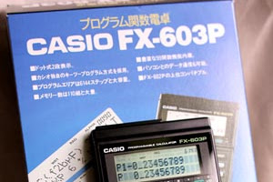 8 Program survey  kalkulator casio FX-603