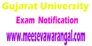 Gujarat University MA/M.Com and BA/B.Com Sept 2016 External Exam Notification