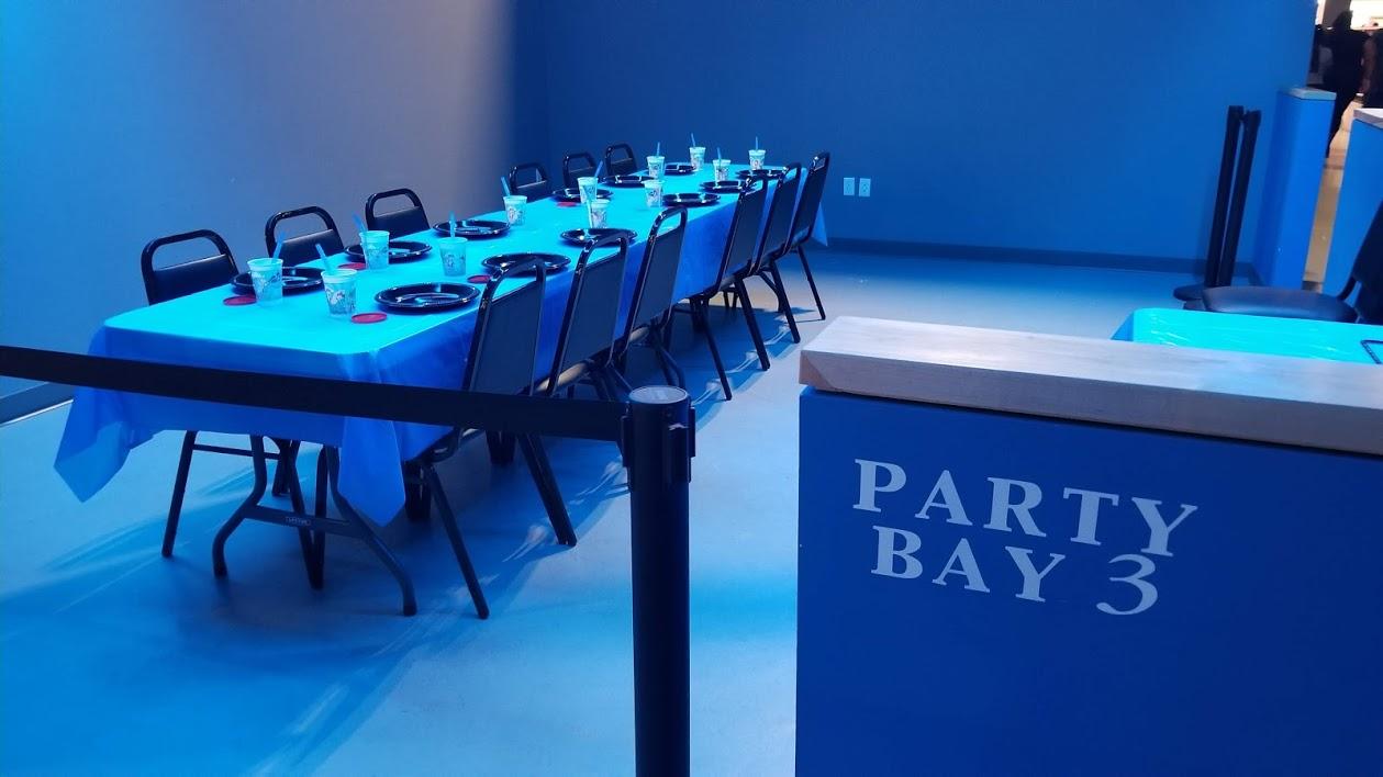 party bay, allegiant nonstop