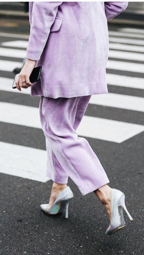 Corduroy Harpers Bazaar Street Style