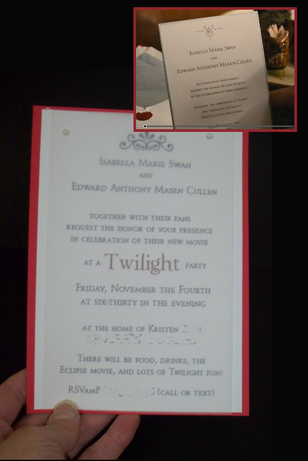Make Do Celebrate The Twilight Saga Breaking Dawn Part 1 Video Release With A Viewing Party