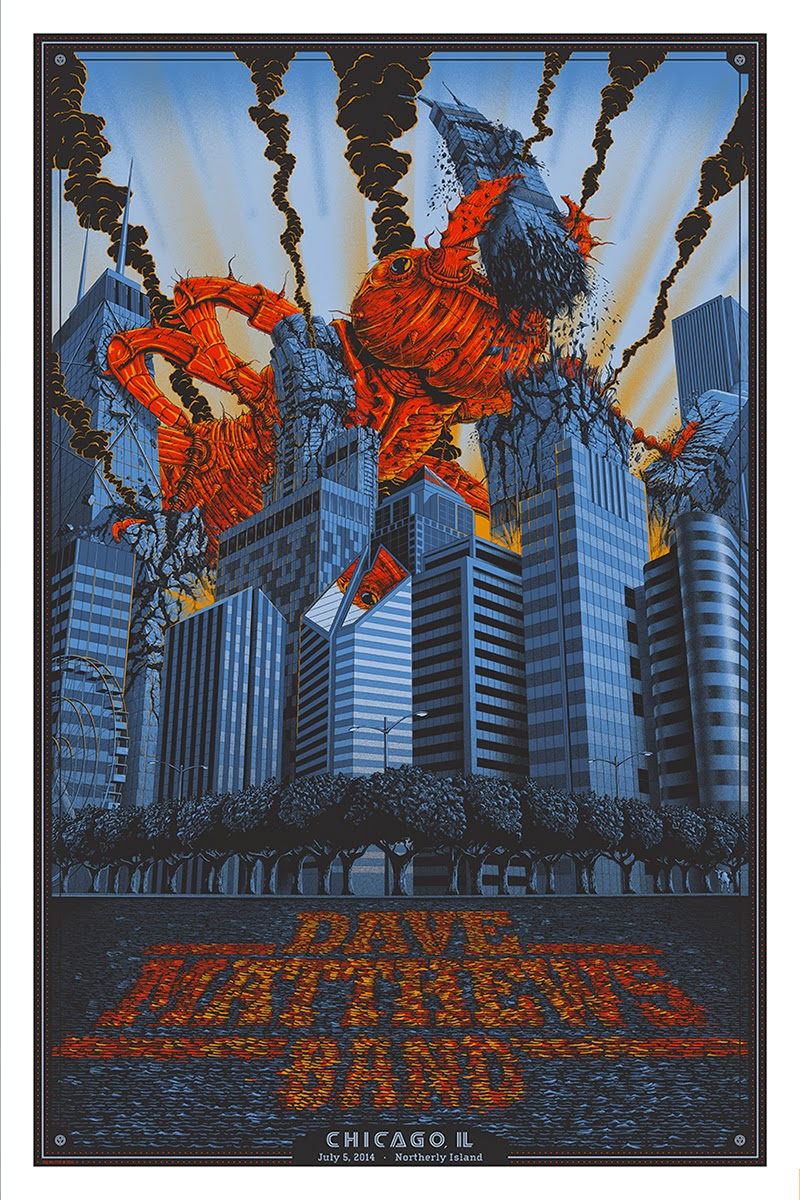 Inside The Rock Poster Frame Blog Dave Matthews Band