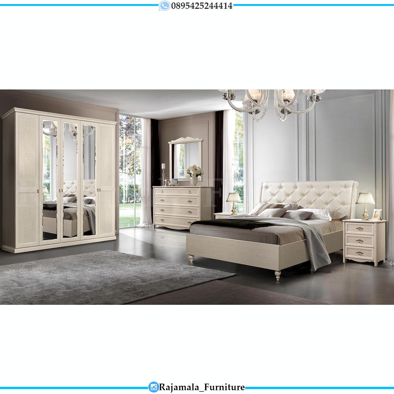 Set Tempat Tidur Minimalis Terbaru Luxury Furniture Jepara RM-0217