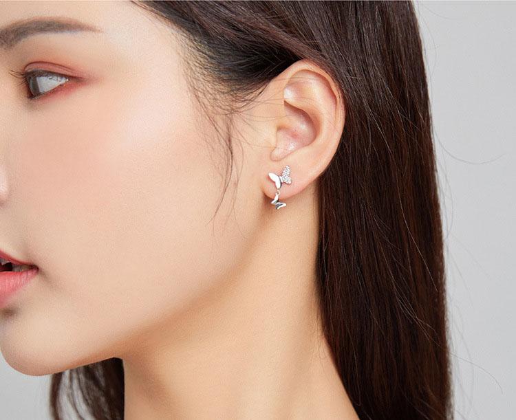 春天物語 925純銀耳環