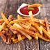 Recette légère: des frites cuites au four sans friture.