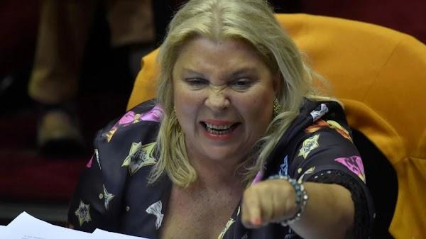 Elisa Carrió retó a sus votantes: ''Ustedes estaban dormidos''