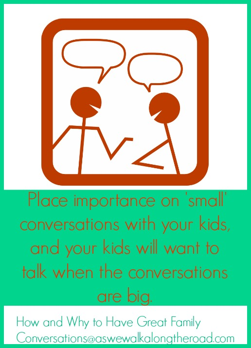 Make talking with children a priority