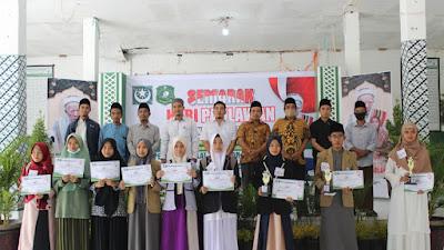 Peringati Hari Pahlawan, PD Pemuda NW Lotim Gelar Lomba Menghafal Biografi Maulanasyaikh