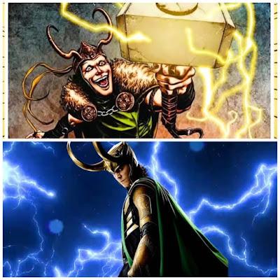 Worthy Marvel/MCU Characters to Lift Mjolnir- Loki