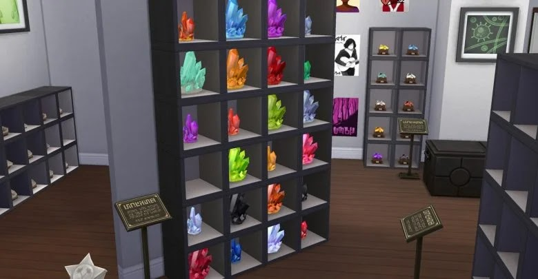 How to collect all the Crystals in The Sims 4