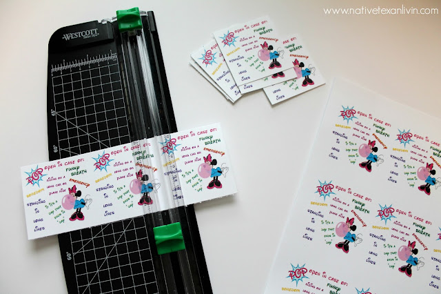 DIY gift of new Extra® 35-stick pack at Walmart. Free Printable.#GiveExtraGetExtra