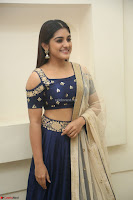 Niveda Thomas in Lovely Blue Cold Shoulder Ghagra Choli Transparent Chunni ~  Exclusive Celebrities Galleries 039.JPG